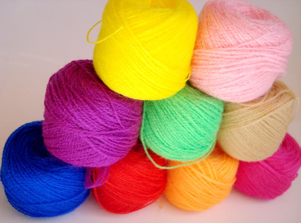 Акриловые нитки вышивка